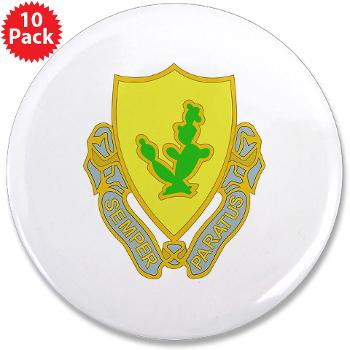 "2S12CR - M01 - 01 - DUI - 2nd Squadron - 12th Cavalry Regiment - 3.5"" Button (10 pack)"