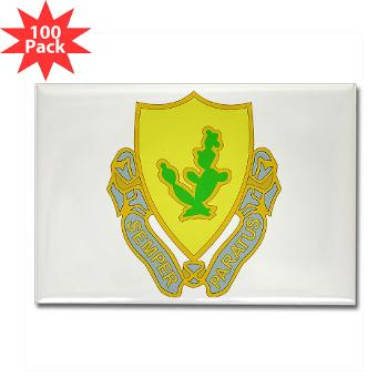 2S12CR - M01 - 01 - DUI - 2nd Squadron - 12th Cavalry Regiment - Rectangle Magnet (100 pack)
