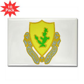 2S12CR - M01 - 01 - DUI - 2nd Squadron - 12th Cavalry Regiment - Rectangle Magnet (10 pack)