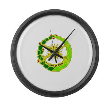 2S13CR - M01 - 03 - DUI - 2nd Squadron - 13th Cavalry Regiment - Large Wall Clock
