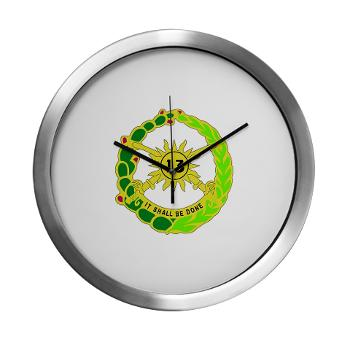 2S13CR - M01 - 03 - DUI - 2nd Squadron - 13th Cavalry Regiment - Modern Wall Clock