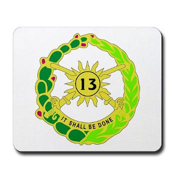 2S13CR - M01 - 03 - DUI - 2nd Squadron - 13th Cavalry Regiment - Mousepad