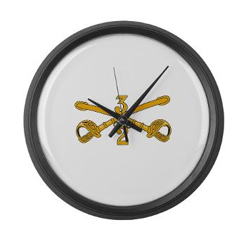 2S3ACR - M01 - 03 - DUI - 2nd Sqdrn - 3rd ACR Large Wall Clock