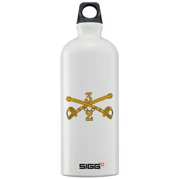 2S3ACR - M01 - 03 - DUI - 2nd Sqdrn - 3rd ACR Sigg Water Bottle 1.0L