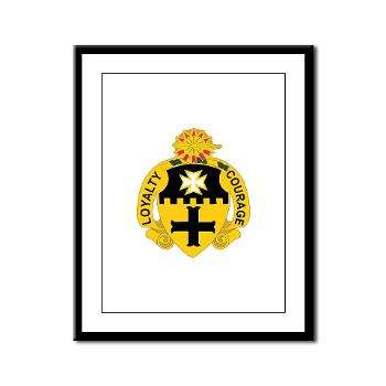 2S5CR - M01 - 02 - DUI - 2nd Squadron - 5th Cavalry Regiment - Framed Panel Print