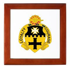 2S5CR - M01 - 03 - DUI - 2nd Squadron - 5th Cavalry Regiment - Keepsake Box