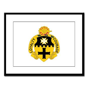 2S5CR - M01 - 02 - DUI - 2nd Squadron - 5th Cavalry Regiment - Large Framed Print