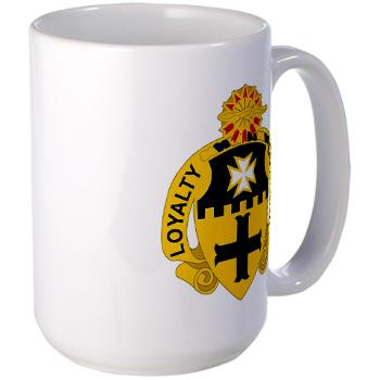 2S5CR - M01 - 03 - DUI - 2nd Squadron - 5th Cavalry Regiment - Large Mug
