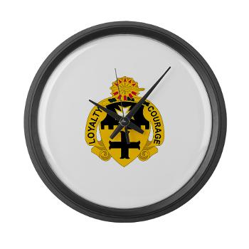 2S5CR - M01 - 03 - DUI - 2nd Squadron - 5th Cavalry Regiment - Large Wall Clock