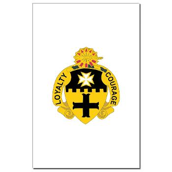 2S5CR - M01 - 02 - DUI - 2nd Squadron - 5th Cavalry Regiment - Mini Poster Print