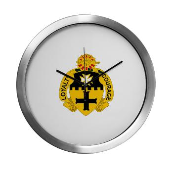 2S5CR - M01 - 03 - DUI - 2nd Squadron - 5th Cavalry Regiment - Modern Wall Clock