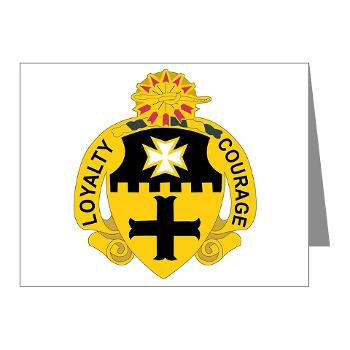 2S5CR - M01 - 02 - DUI - 2nd Squadron - 5th Cavalry Regiment - Note Cards (Pk of 20)