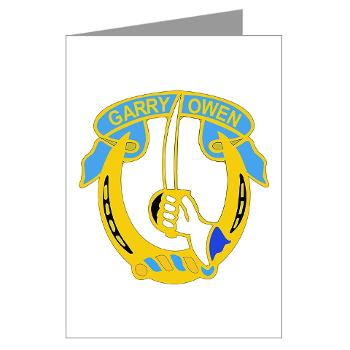2S7CR - M01 - 02 - DUI - 2nd Sqdrn - 7th Cavalry Regt - Greeting Cards (Pk of 10)
