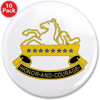 "2S8CR - M01 - 01 - DUI - 2nd Squadron - 8th Cavalry Regiment - 3.5"" Button (10 pack)"