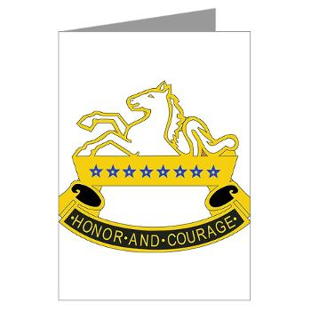 2S8CR - M01 - 02 - DUI - 2nd Squadron - 8th Cavalry Regiment - Greeting Cards (Pk of 10)