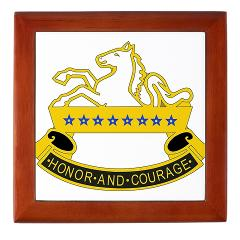 2S8CR - M01 - 03 - DUI - 2nd Squadron - 8th Cavalry Regiment - Keepsake Box
