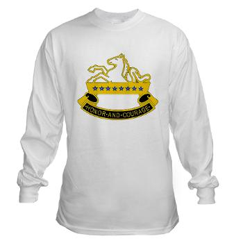 2S8CR - A01 - 03 - DUI - 2nd Squadron - 8th Cavalry Regiment - Long Sleeve T-Shirt