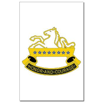 2S8CR - M01 - 02 - DUI - 2nd Squadron - 8th Cavalry Regiment - Mini Poster Print