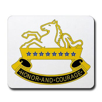 2S8CR - M01 - 03 - DUI - 2nd Squadron - 8th Cavalry Regiment - Mousepad