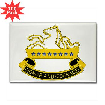 2S8CR - M01 - 01 - DUI - 2nd Squadron - 8th Cavalry Regiment - Rectangle Magnet (100 pack)