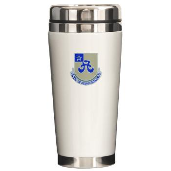 308BSB- M01 - 03 - DUI - 308th Bde - Support Bnt - Ceramic Travel Mug