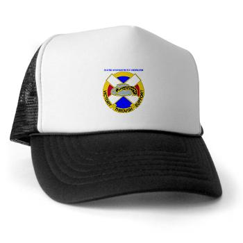 310SC - A01 - 02 - DUI - 310th Sustainment Command with text Trucker Hat