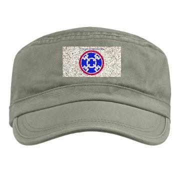 310SC - A01 - 01 - SSI - 310th Sustainment Command with text Military Cap