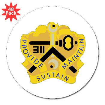 "311SC - A01 - 01 - DUI - 311th Sustainment Command - 3"" Lapel Sticker (48 pk)"