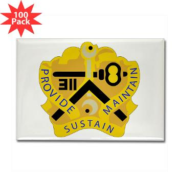 311SC - A01 - 01 - DUI - 311th Sustainment Command - Rectangle Magnet (100 pack)