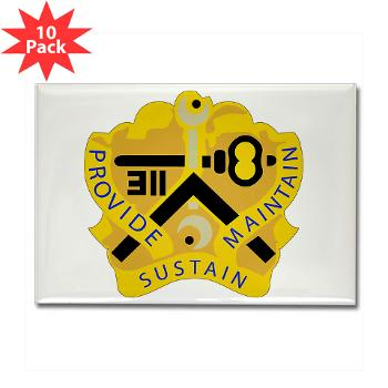 311SC - A01 - 01 - DUI - 311th Sustainment Command - Rectangle Magnet (10 pack)