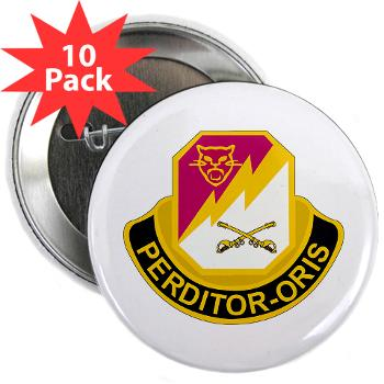 "316CB - M01 - 01 - DUI - 316th Cavalry Brigade 2.25"" Button (10 pack)"