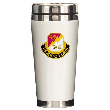 316CB - M01 - 03 - DUI - 316th Cavalry Brigade Ceramic Travel Mug