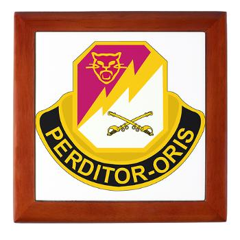 316CB - M01 - 03 - DUI - 316th Cavalry Brigade Keepsake Box