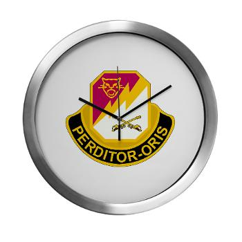 316CB - M01 - 03 - DUI - 316th Cavalry Brigade Modern Wall Clock