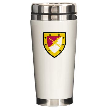 316CB - M01 - 03 - SSI - 316th Cavalry Brigade Ceramic Travel Mug