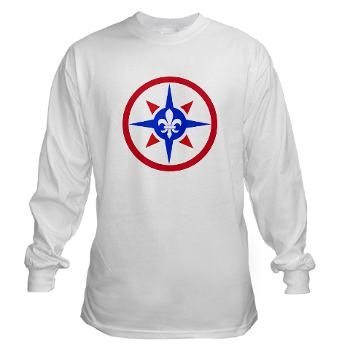 316SC - A01 - 03 - SSI - 316th Sustainment Command - Long Sleeve T-Shirt