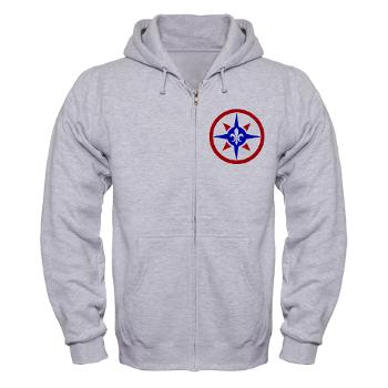 316SC - A01 - 03 - SSI - 316th Sustainment Command - Zip Hoodie