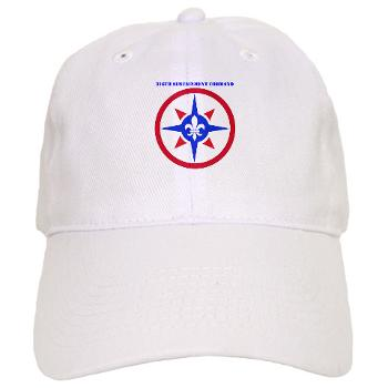 316SC - A01 - 01 - SSI - 316th Sustainment Command with Text - Cap