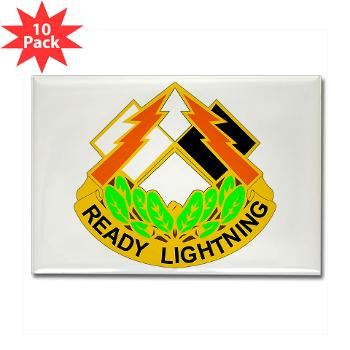 335SC - A01 - 01 - DUI -335th Signal Command - Rectangle Magnet (10 pack)