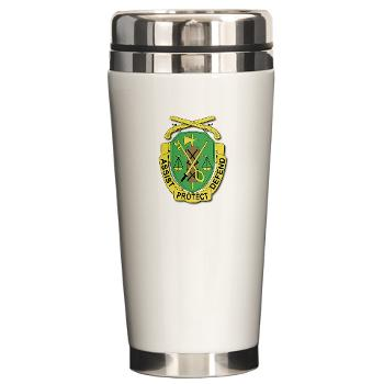 35MPD - M01 - 03 - DUI - 35th Military Police Detachment - Ceramic Travel Mug
