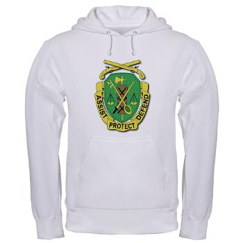 35MPD - A01 - 03 - DUI - 35th Military Police Detachment - Hooded Sweatshirt
