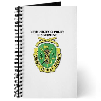 35MPD - M01 - 02 - DUI - 35th Military Police Detachment with text - Journal