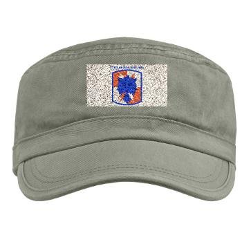 35SB - A01 - 01 - SSI - 35th Signal Brigade with Text - Military Cap
