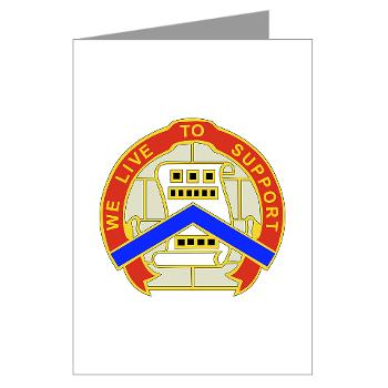 364ESC - M01 - 02 - DUI - 364th Expeditionary Sustainment Command Greeting Cards (Pk of 10)