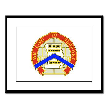 364ESC - M01 - 02 - DUI - 364th Expeditionary Sustainment Command Large Framed Print