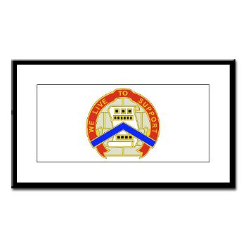 364ESC - M01 - 02 - DUI - 364th Expeditionary Sustainment Command Small Framed Print