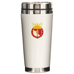 36EB - M01 - 03 - DUI - 36th Engineer Brigade Ceramic Travel Mug