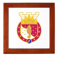 36EB - M01 - 03 - DUI - 36th Engineer Brigade Keepsake Box