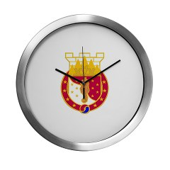36EB - M01 - 03 - DUI - 36th Engineer Brigade Modern Wall Clock