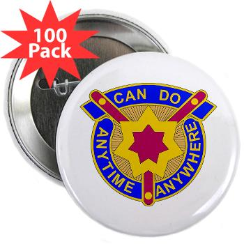"377SC - M01 - 01 - DUI - 377th Sustainment Command - 2.25"" Button (100 pack)"